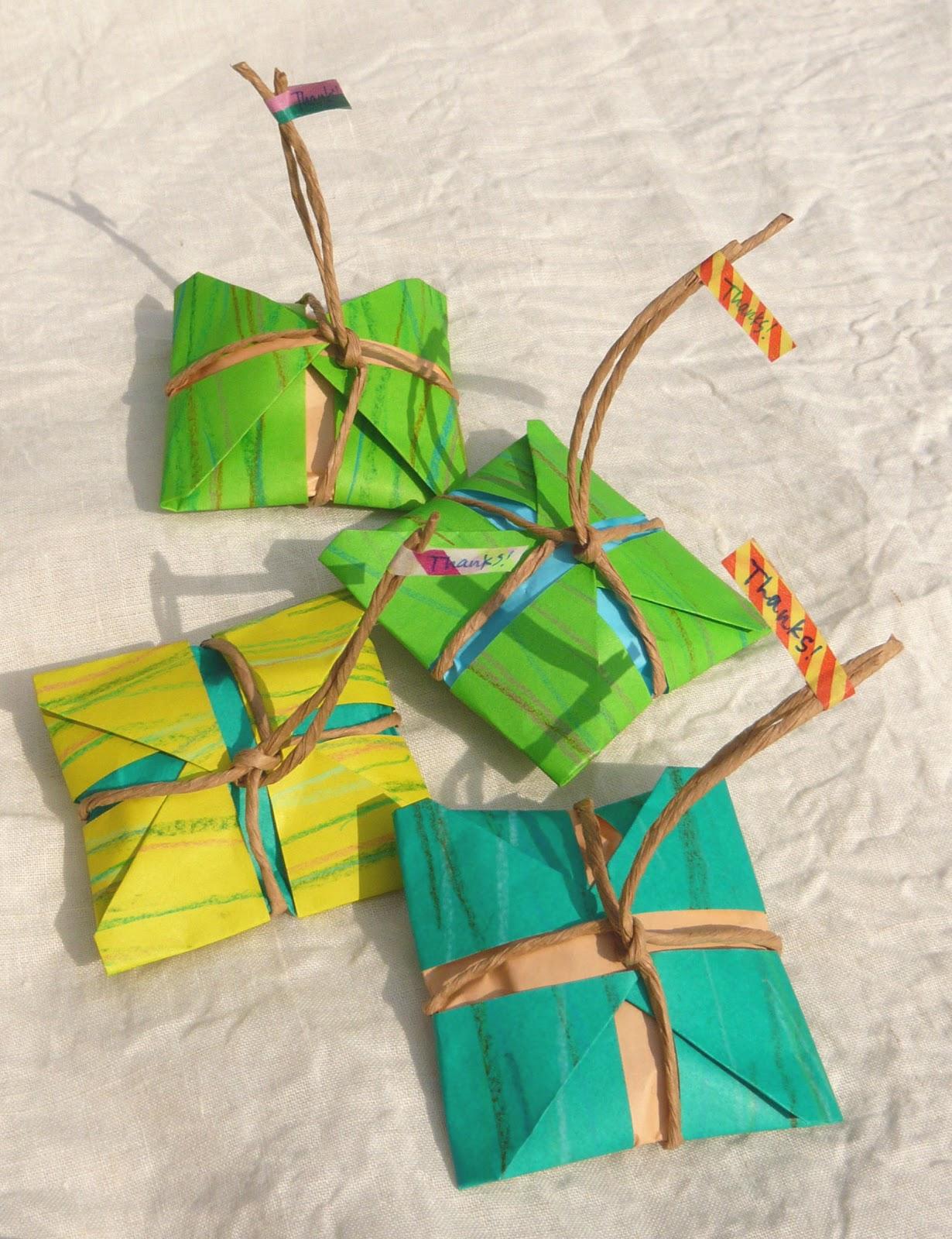 すべての折り紙 折り紙トトロの作り方 : ... ラッピング トトロのお土産