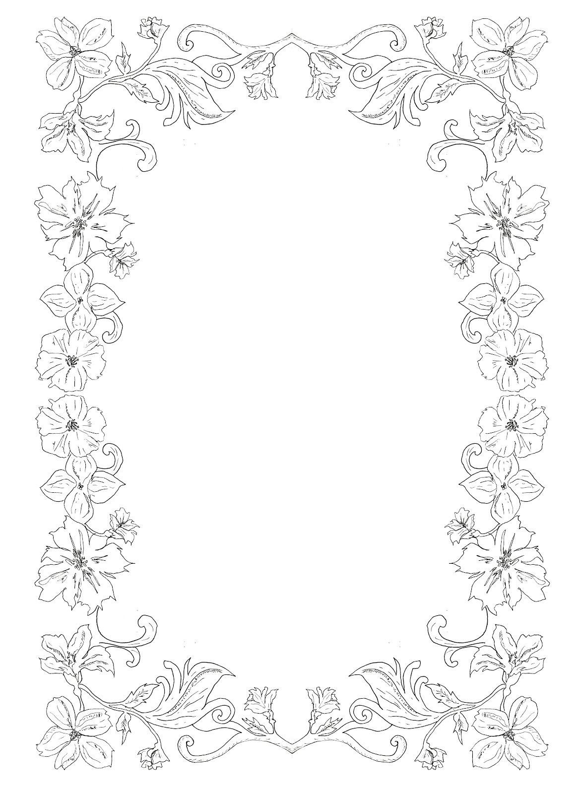 Border Design Patterns