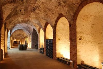 Bóvedas Bodega del Real Cortijo. Blog Esteban Capdevila