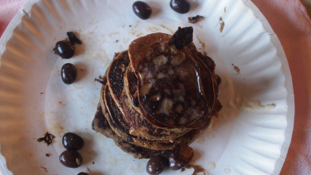 how to make pancakes with cocoa powder