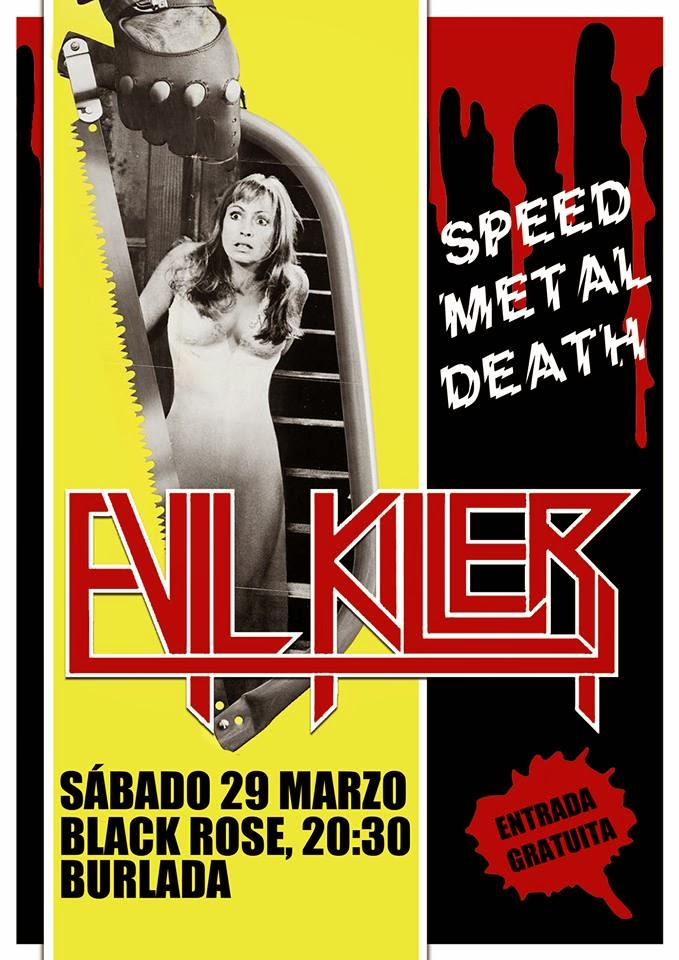 EVIL KILLER, REGRESO A BLACK ROSE!!