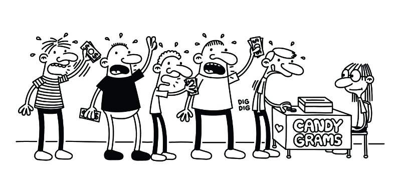 Who Is The Illustrator For Diary Of A Wimpy Kid
