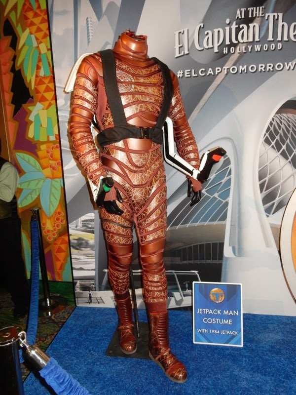 Original Jetpack man movie costume Tomorrowland