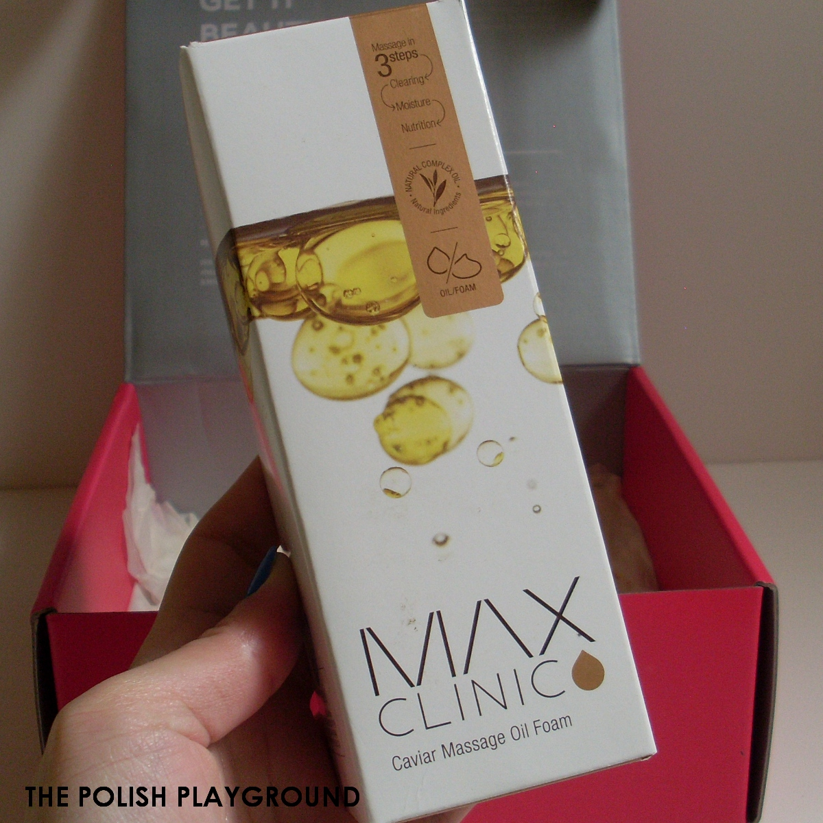 Memebox #8 Unboxing - MAX Clinic Caviar Massage Oil Foam Cleanser