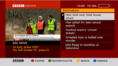 BBC NOTTINGHAM NEWS - RED BUTTON TEXT - a516digital