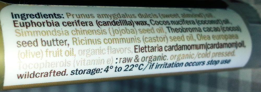 Hurraw - Cardamomo (Chai Spice)
