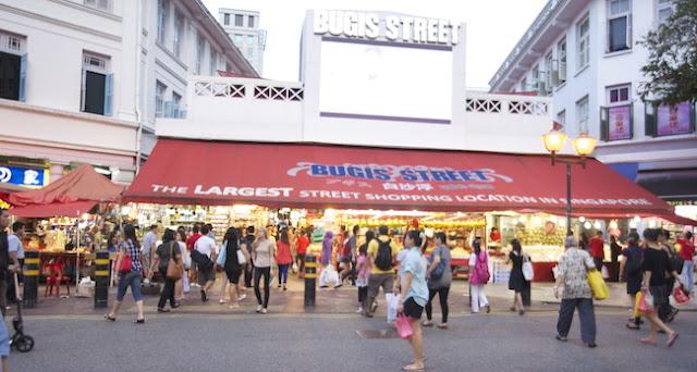 wisata belanja songapore murah bugis street