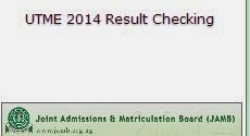 2014 jamb result checker