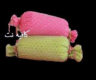 طريقة عمل وسادة قطعة الحلوى