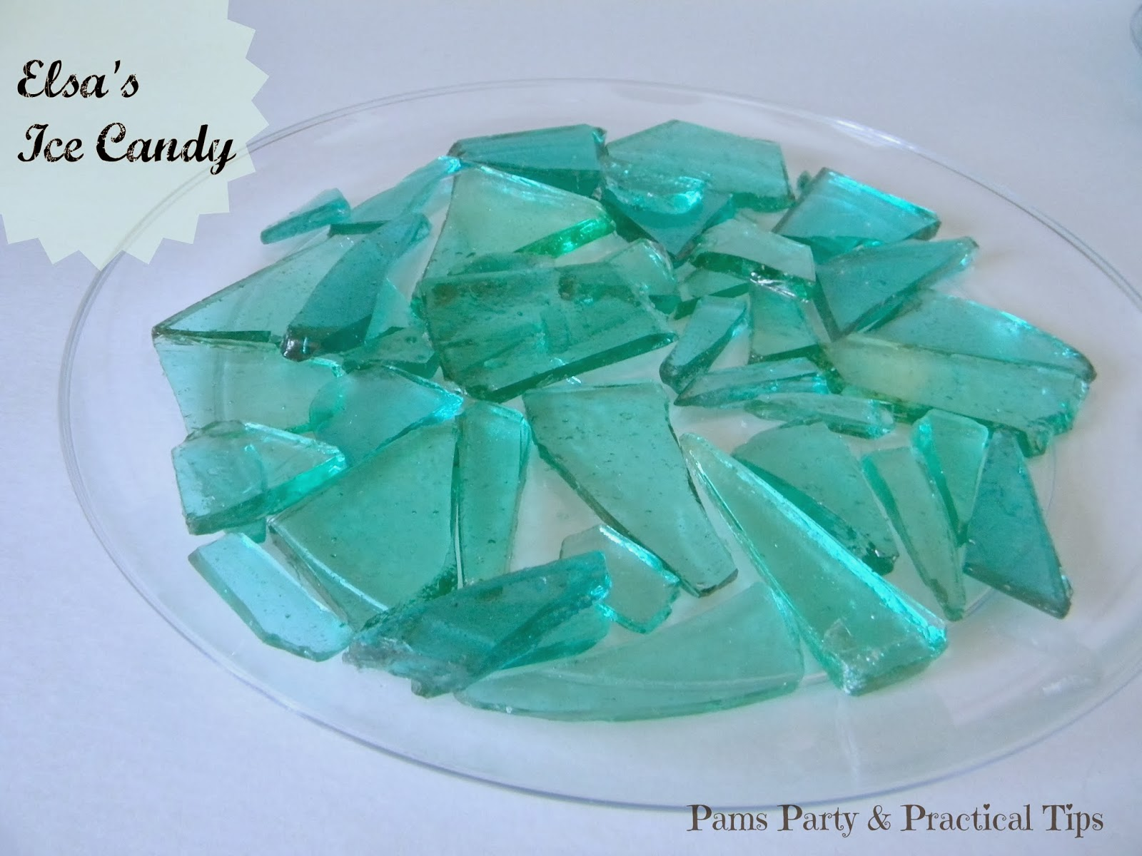 Make Elsa's Ice Candy for a #Frozen Party