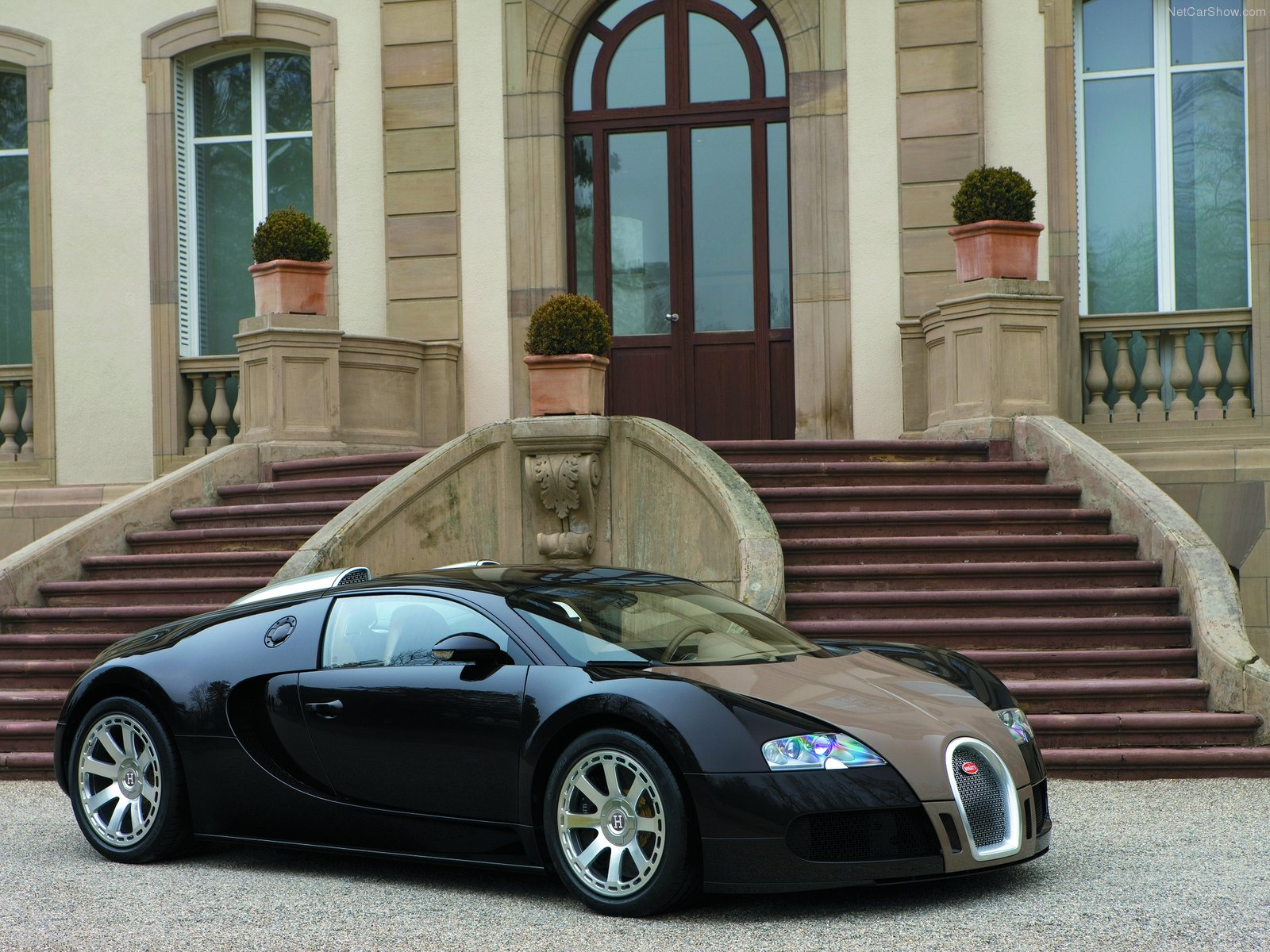Hình ảnh siêu xe Bugatti Veyron Fbg par Hermes 2008 & nội ngoại thất