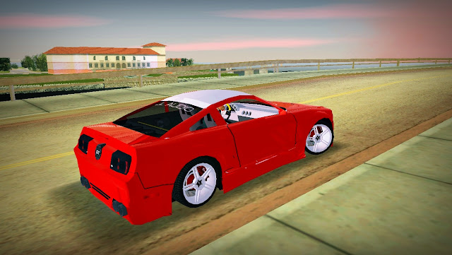 Ford Mustang GT Beach 2005 GTA Vice City