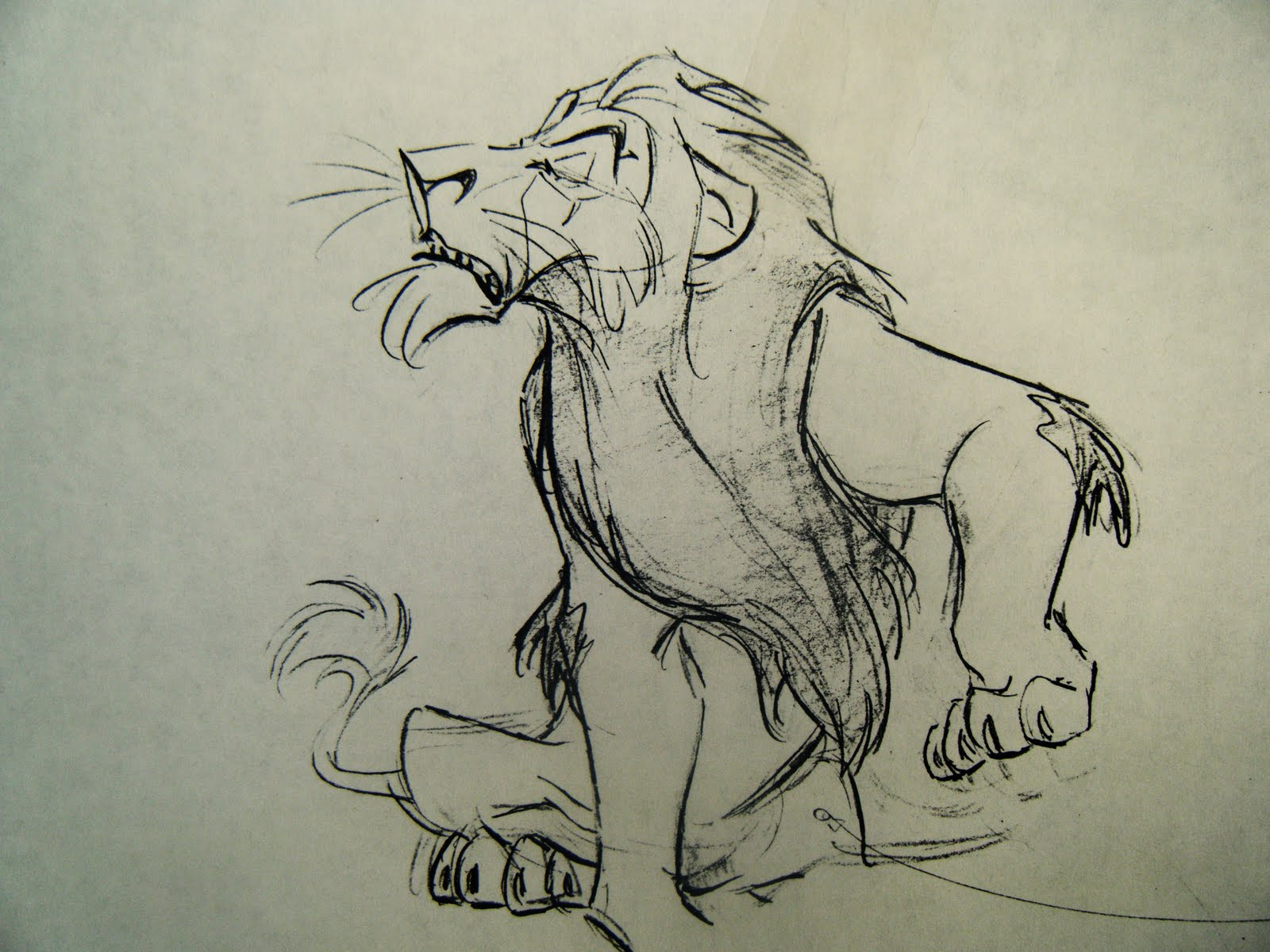 Living Lines Library The Lion King (1994) - Character Scar