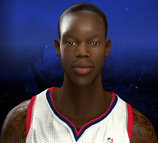 NBA 2K14 Dennis Schroder Cyberface Mod