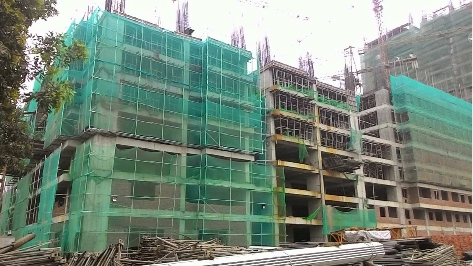 Toàn cảnh tiến độ thị công chung cư HH3 Linh Đàm