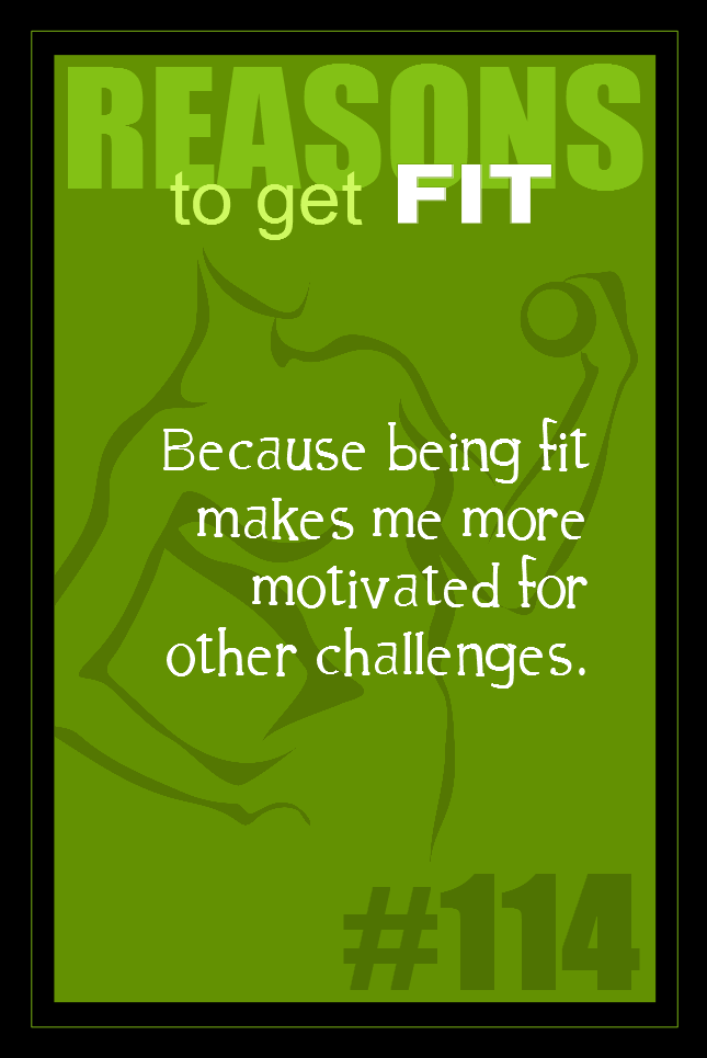 365 Reasons to Get Fit #114
