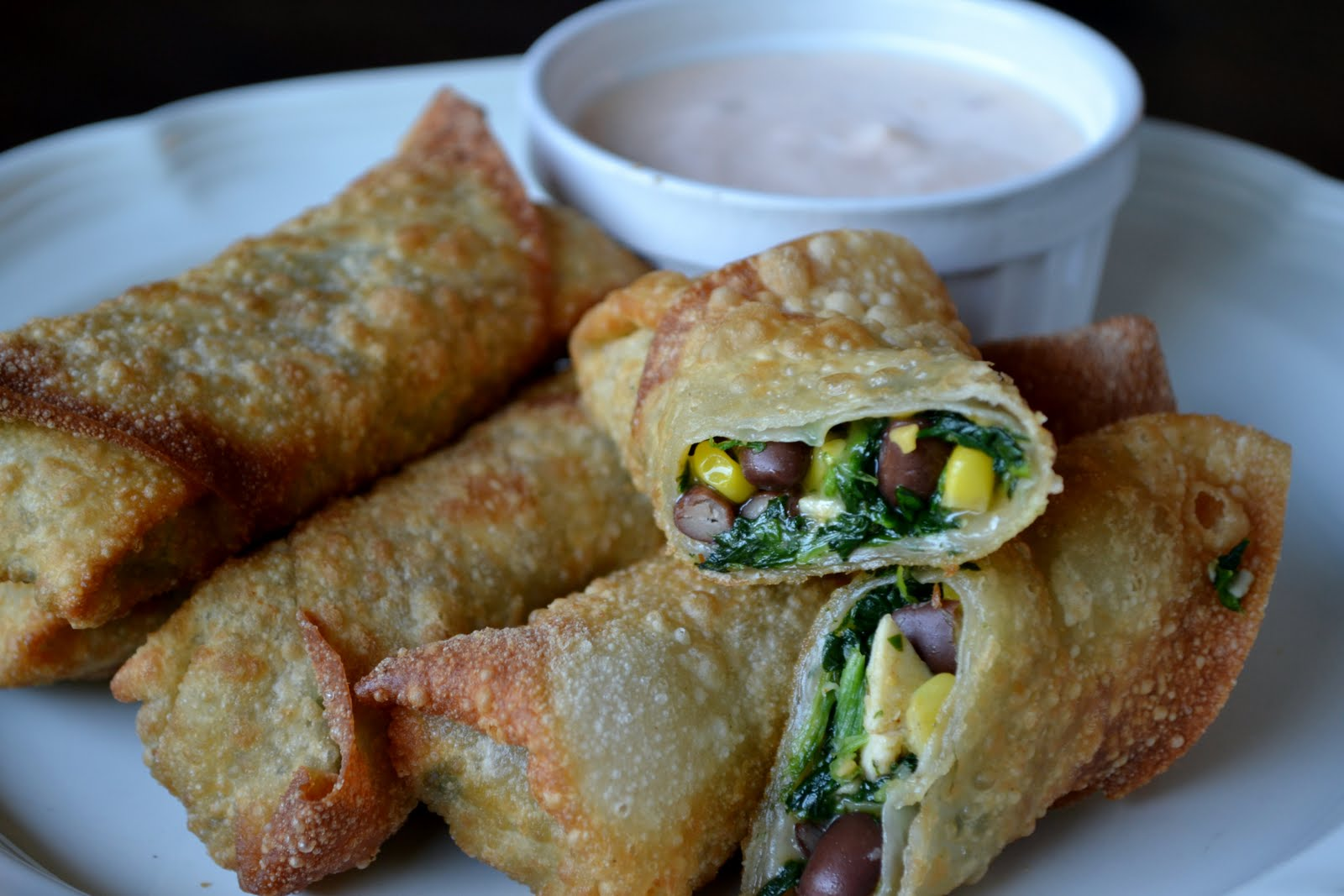 obsessed with southwestern egg rolls i was so southwestern egg rolls ...