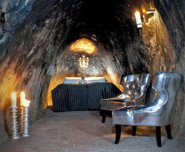 Batman's Lair Sala Silvermine, Sweden