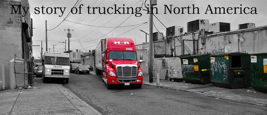 My story of trucking in North America