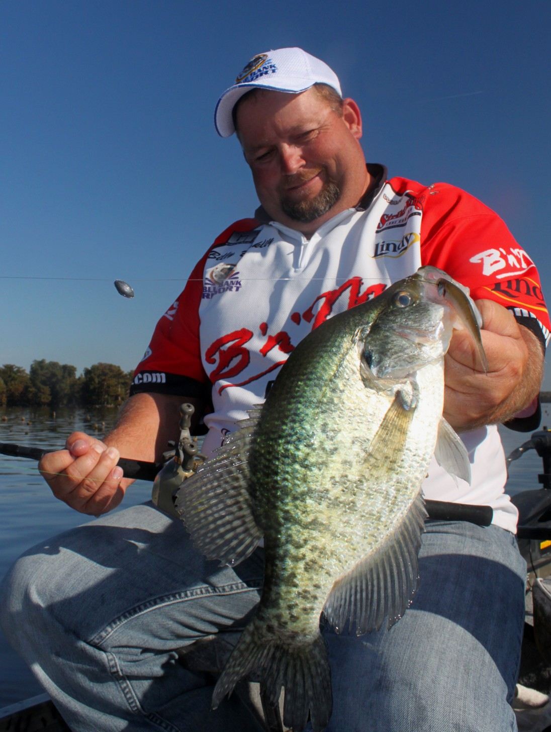Jeff samsel fishing october 2012 for Reelfoot lake crappie fishing