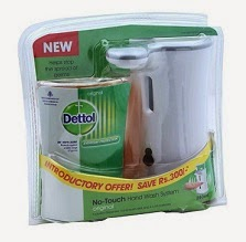 Amazing Offer: Dettol No Touch Handwash System Original 250ml worth Rs.549 for Rs.266 Only @ Snapdeal