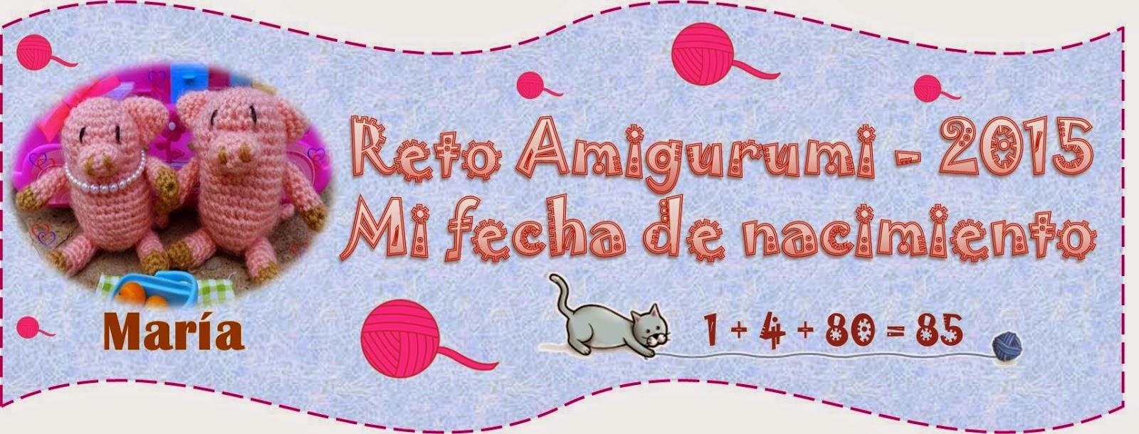 Reto Amigurumi 2015