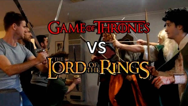 Game of Thrones vs The Lord of The Ring
