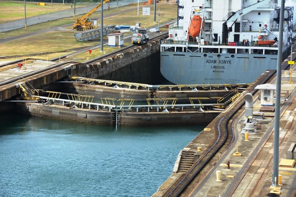 Gatun Locks Panama Canal Adam Asnyk