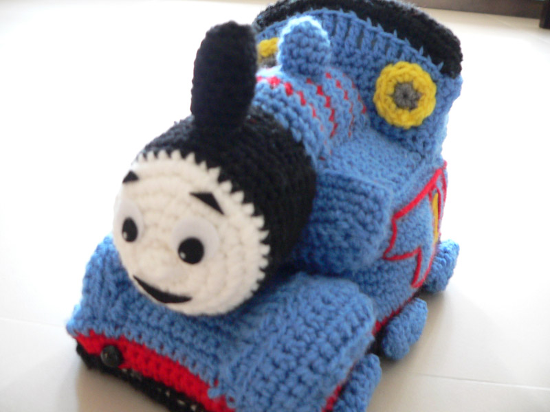 Free Crochet Hat Pattern For Thomas The Train : Expattern: Thomas and Friends Tank Engine Train Crochet ...