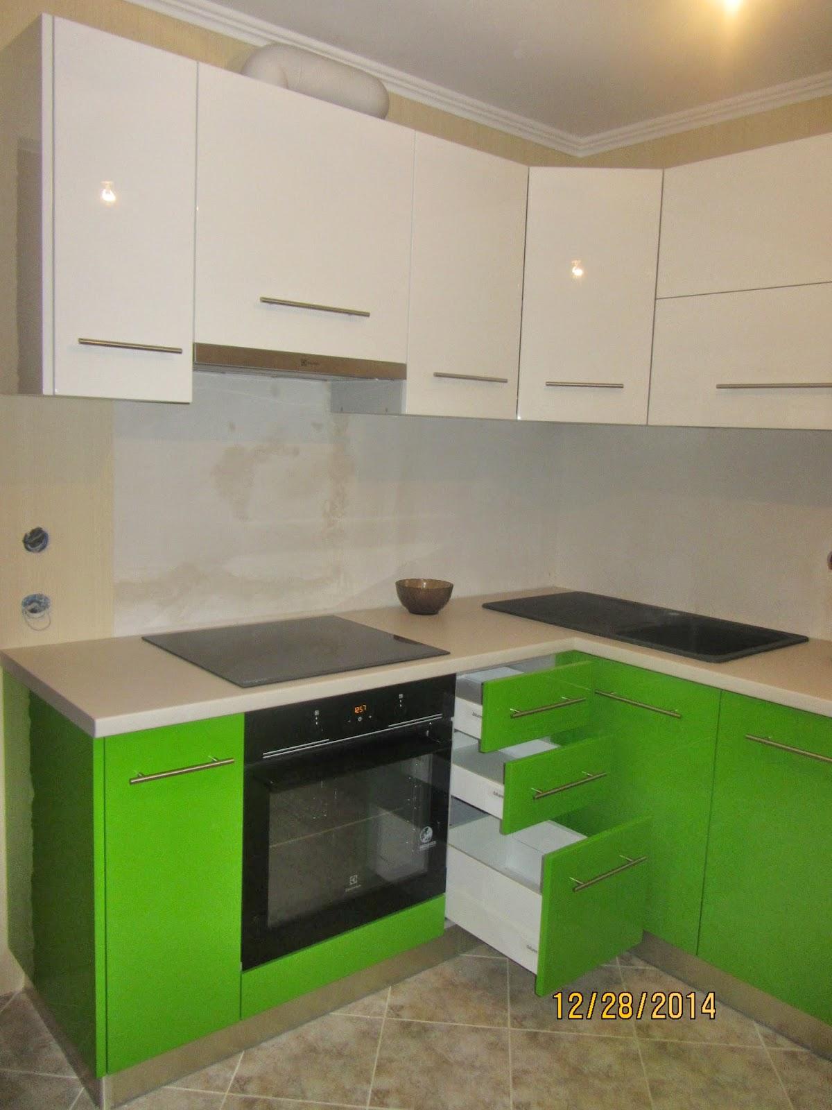 Kухни и корпусная мебель под заказ: Угловая современная кухня в ...