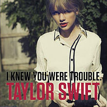 taylor swfit i knew you were trouble cover