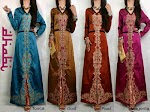 Gamis Thai Silk Bordir Krancang SOLD OUT