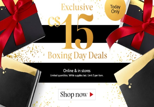 Sephora Boxing Day $15 Deals Exclusive