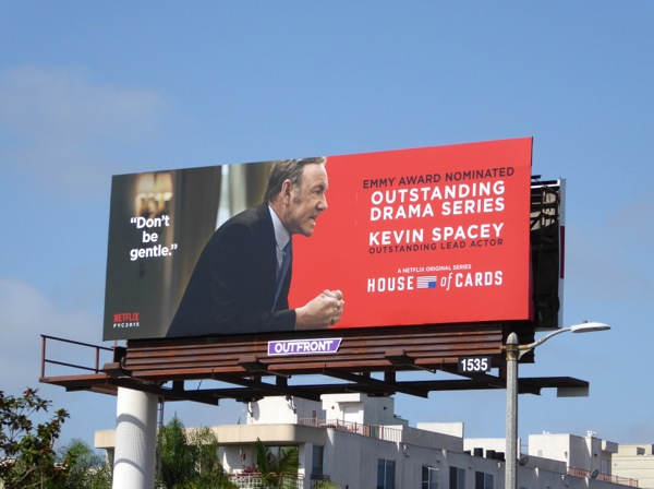 House of Cards Kevin Spacey Emmy 2015 billboard