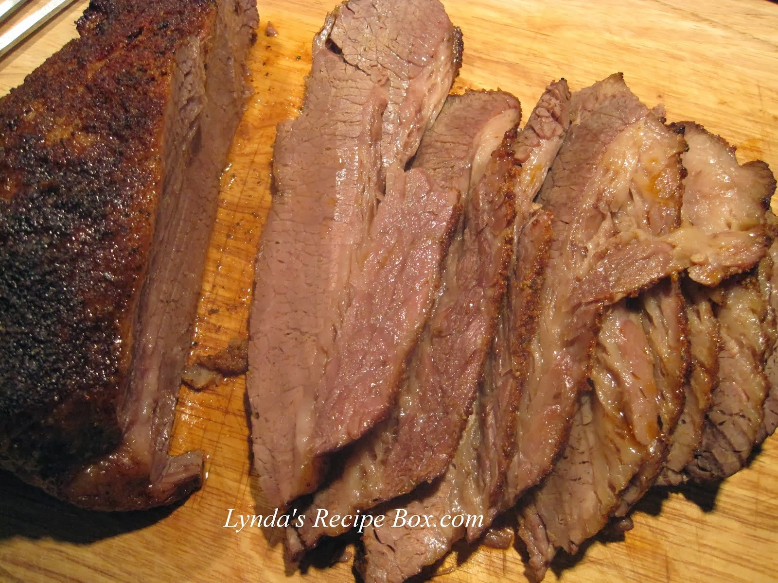 Texas Oven-Roasted Brisket