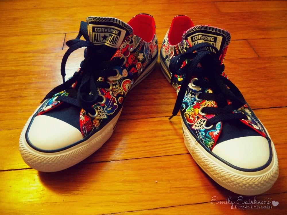 Colorful Converse