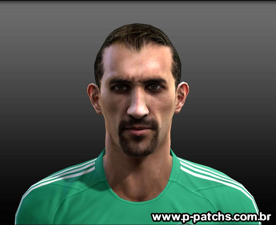 Hernán Barcos Face - PES 2013