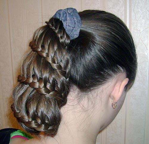 Peinados infantiles con trenzas