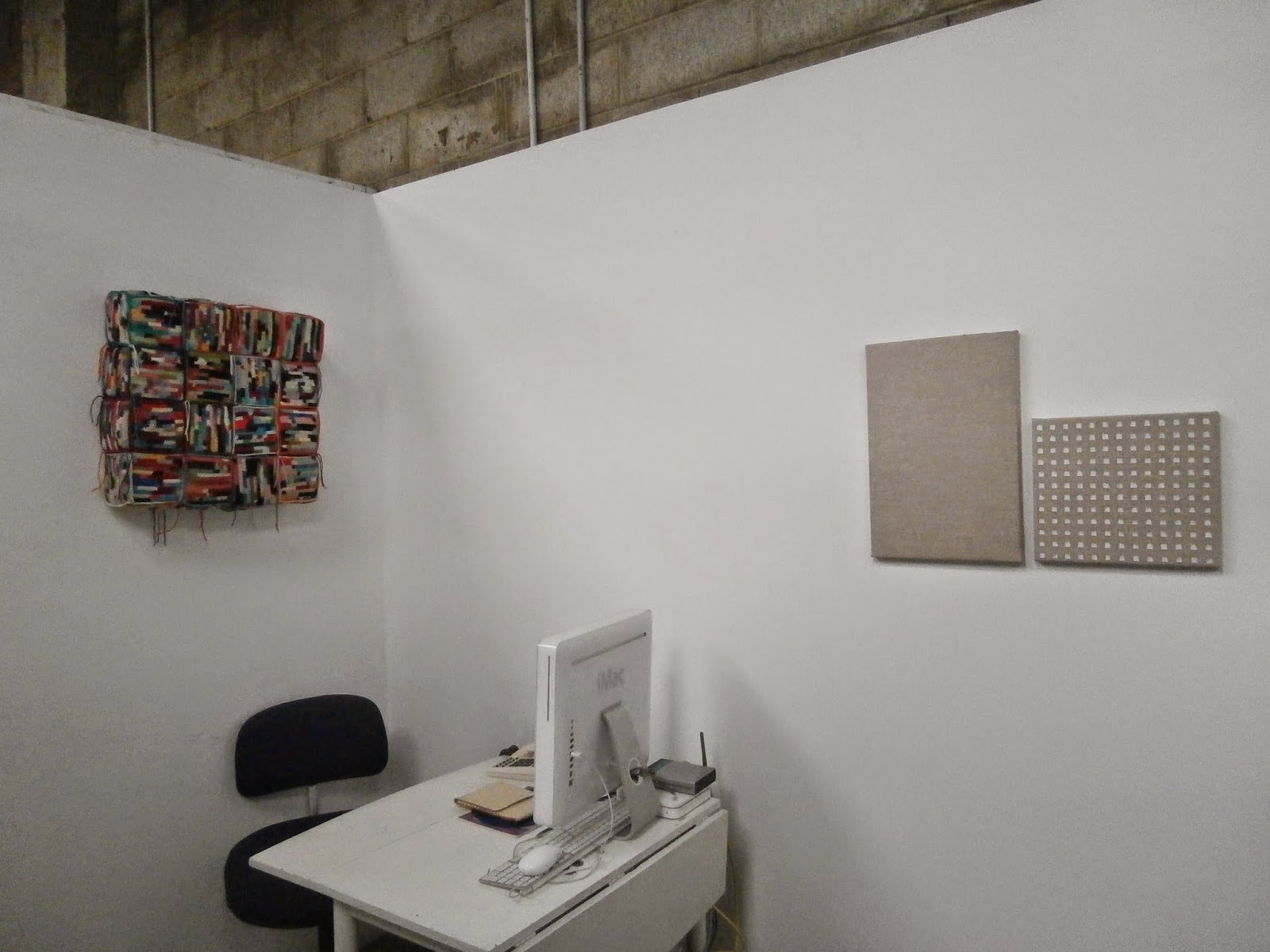 installation, directors show, pam aitken, kate mackay, painting, factory 49, geometric abstraction, non objective