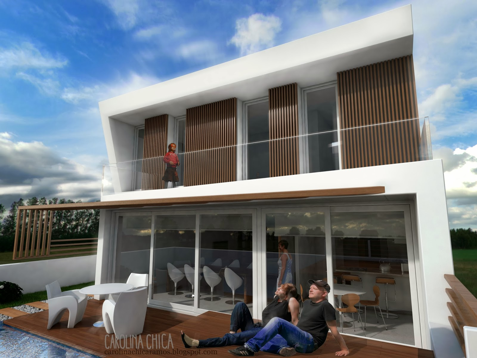 Infoarquitectura y dise o 3d vivienda en olula del r o - Vivienda en almeria ...