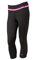 Style Athletics Black Workout Pants Capris Old Navy