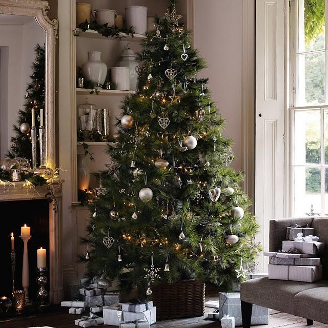 Decoraci n del rbol de navidad ideas para decorar - Como decorar un arbol de navidad azul ...
