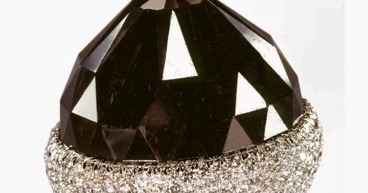 e03242ad255 Maior diamante negro do mundo  História do Diamante  - Joialerismo