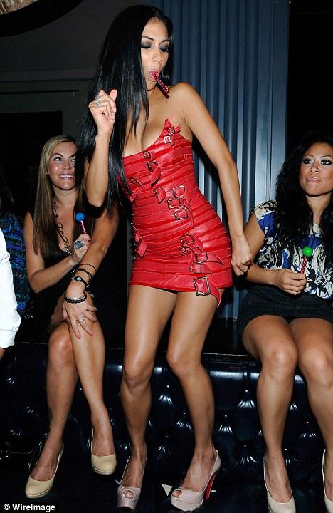 Factor Nicole Scherzinger Lady In Red