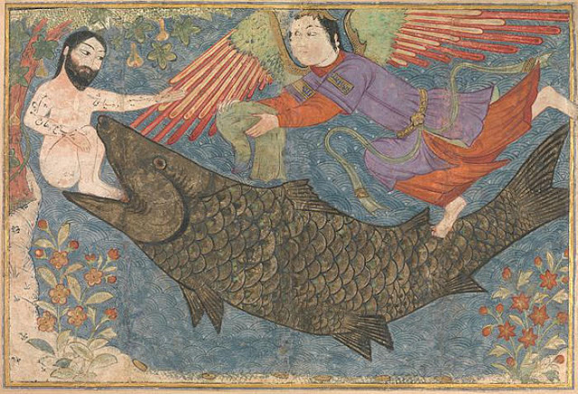 Yunus Keluar Dari Perut Ikan