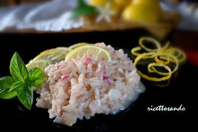 Risotto limone e zenzero ricetta fresca di riso
