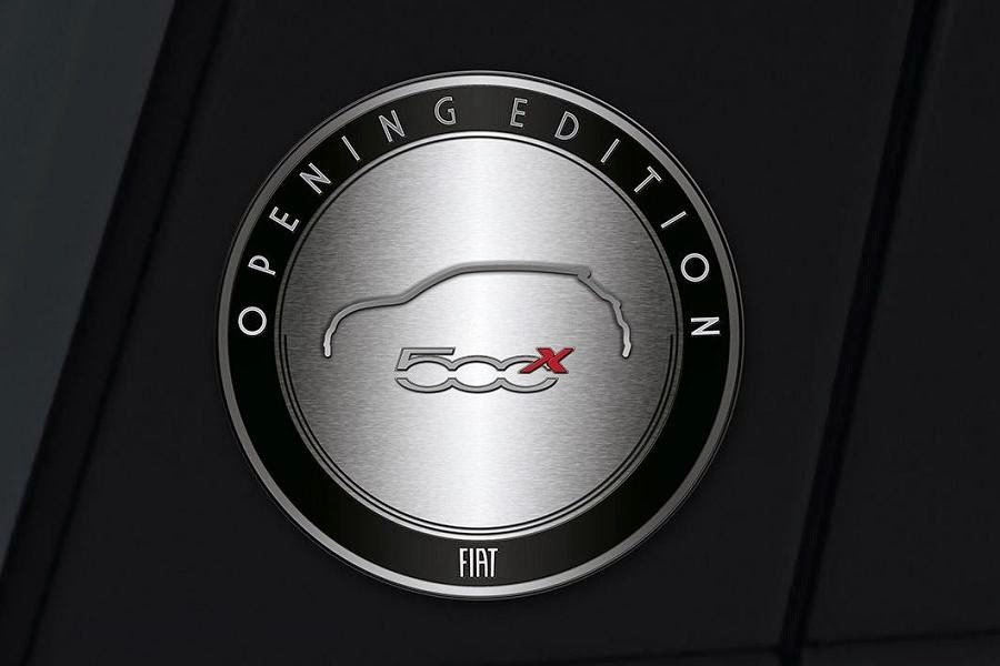 Fiat 500X Opening Edition (2015) Badge