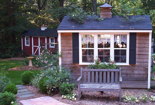 Cottage industry garden sheds for Garden shed pictures
