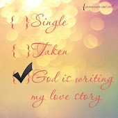 God is writing my love story :)