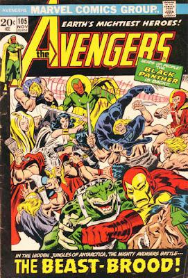 Avengers 105, Beast Brood